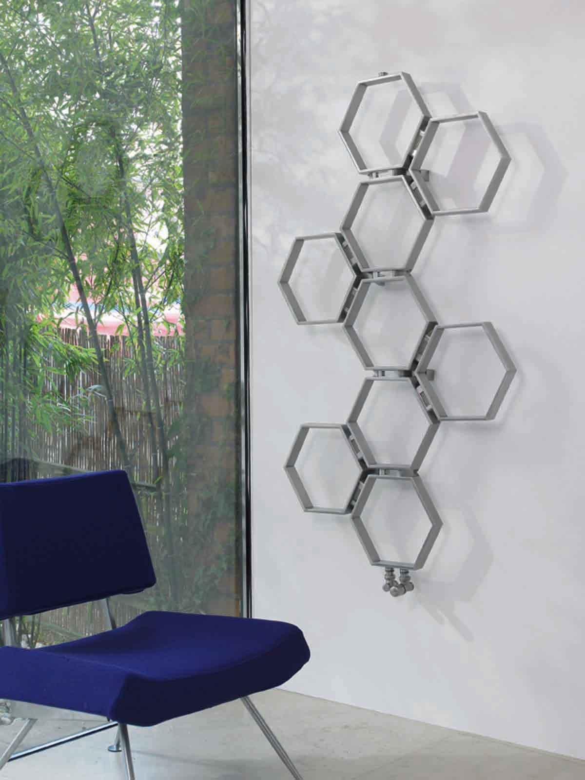 radiator honeycomb rostfri designradiator virab. Black Bedroom Furniture Sets. Home Design Ideas