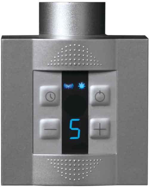 Elpatron KTX 4 i silver utförande för dolt elmontage