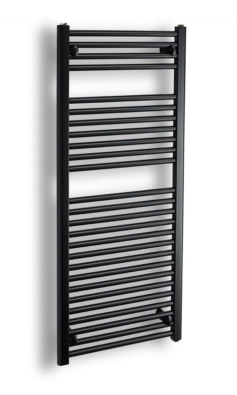 Komfort rak 120x50 matt svart