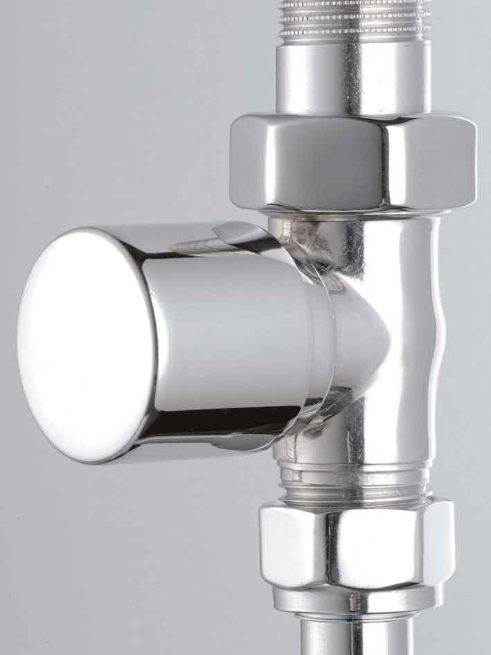 Design ventil rak krom