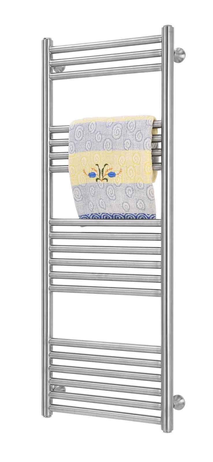 Nobless-120 x 50-rostfri handdukstork